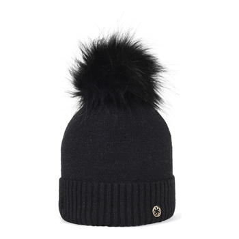 Clarke Faux Fur Black