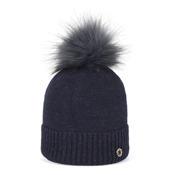Clarke Faux Fur Blue Navy