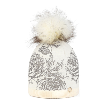 Gable Faux Fur White