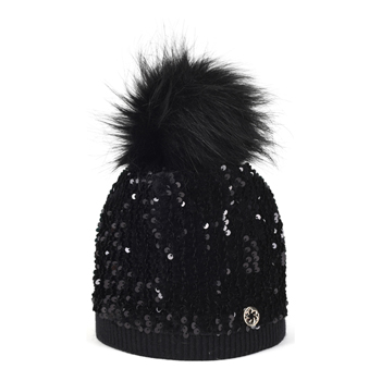 Colman Faux Fur Black