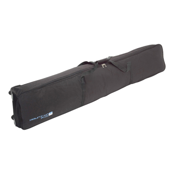 Mountain Pac Short Wheely Double Ski and Snowboard Bag Black