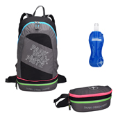 Mountain Pac Backpack 2 in 1 Rock-Pink