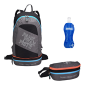 Mountain Pac Backpack 2 in 1 Rock-Blue