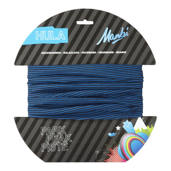 Manbi Hula Pattern Thin Stripe Blue