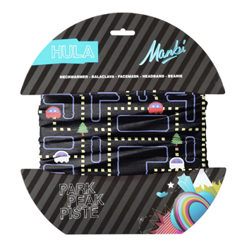 Manbi Hula Pattern Sno Man Black