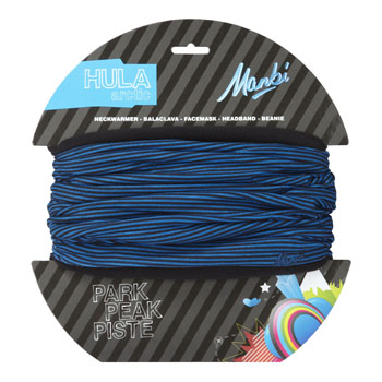 Manbi Kids Hula Arctic Pattern Thin Stripes Blue