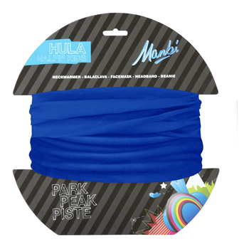 Manbi Kids Hula Halfie Plain Olympic Blue