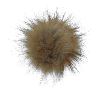 Manbi Faux Fur Bobble Faux Natural