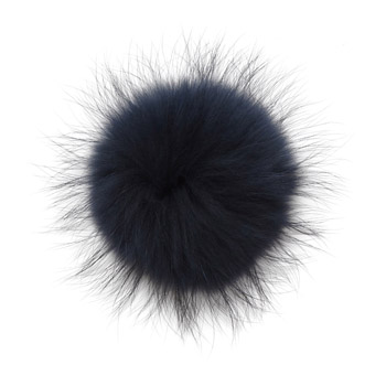 Manbi Real Fur Bobble Navy