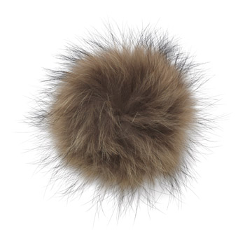 Manbi Real Fur Bobble Natural