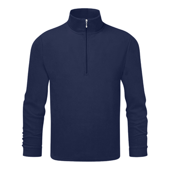Manbi Mens Microfleece Zip Navy*
