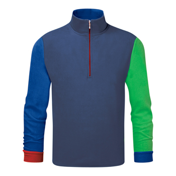 Manbi Mens Microfleece Zip Colour Mix 1