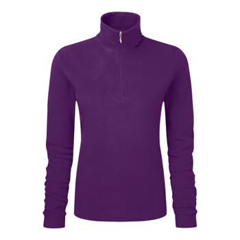 Manbi Ladies Microfleece Zip Fig