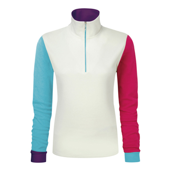 Manbi Ladies Microfleece Zip Colour Mix 2