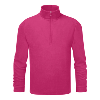 Manbi Kids Microfleece Zip Raspberry