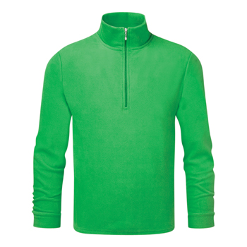 Manbi Kids Microfleece Zip Spearmint