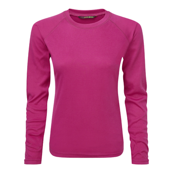 Manbi Ladies Fit Supatherm Top Raspberry