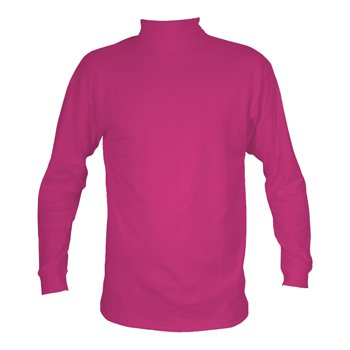 Manbi Kids Supatherm Roll Neck Raspberry