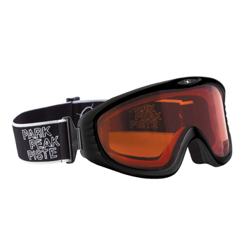 3a42944c2ca Manbi Vulcan Goggle Black Gloss Orange