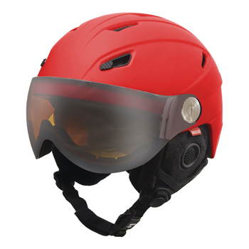 Manbi Park Visor Pro Kids True Red Matt