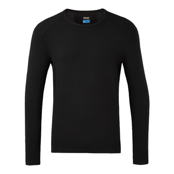 Manbi Mens Soft-Tec Thermal Top Black