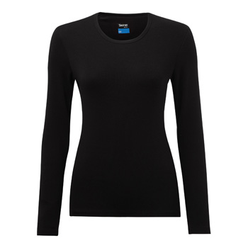 Manbi Ladies Soft-Tec Thermal Top Black
