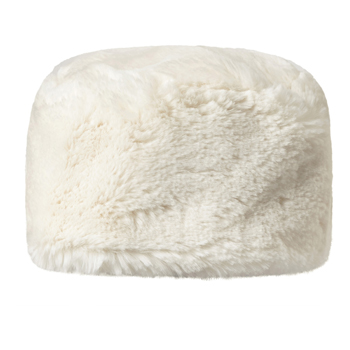 Manbi Full Faux Fur Cossack Hat Chinchilla Cream