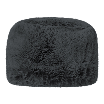Manbi Full Faux Fur Cossack Hat Chinchilla Grey