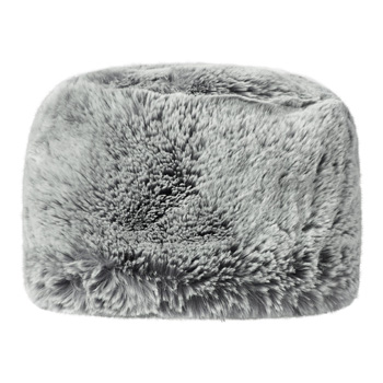 Manbi Full Faux Fur Cossack Hat Chinchilla Silver